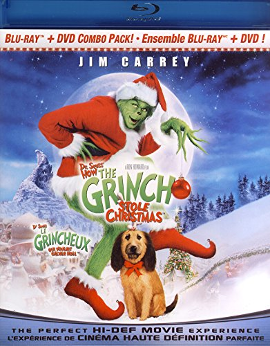 Dr. Seuss' How The Grinch Stole Christmas (Blu-ray Combo Pack (Blu-ray + DVD))]()