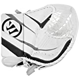 Warrior Junior Ritual Full Right Hockey Catcher/Trapper, White/Black/Silver