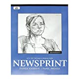 """Jack Richeson 457259 Newsprint Pad with 100 Sheets, 18"""" x 24"""" Size"""