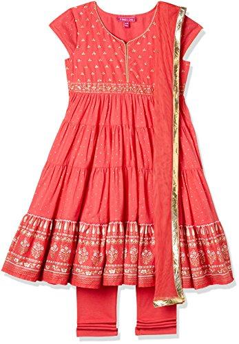 Biba Girls Anarkali Salwar Suit Set