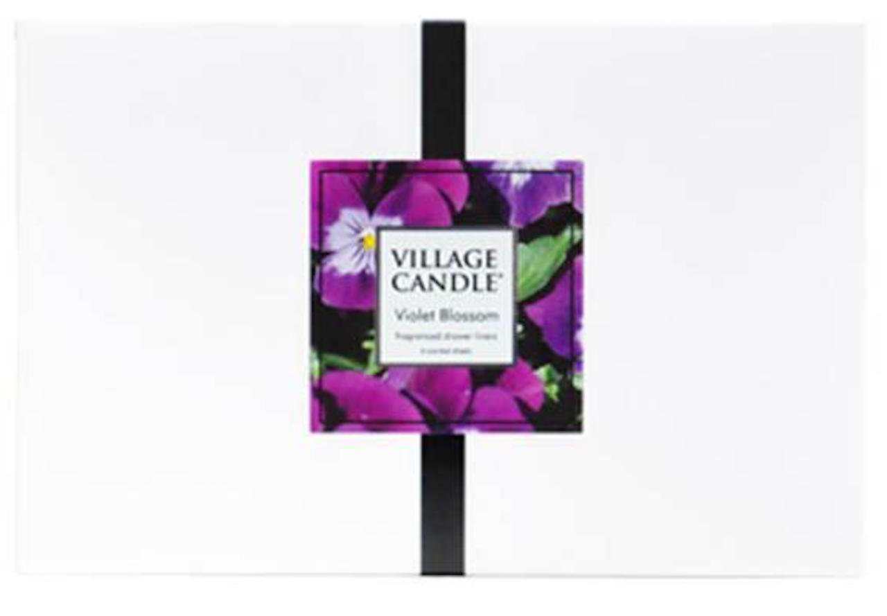 The Village Company Village Candle Violet Blossom Drawer Liners