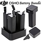 DJI OSMO Ultimate Power Bundle: Includes 5 Osmo Batteries, Quad Charger, 2 Battery Checkers & eDigitalUSA Microfiber Cleaning Cloth