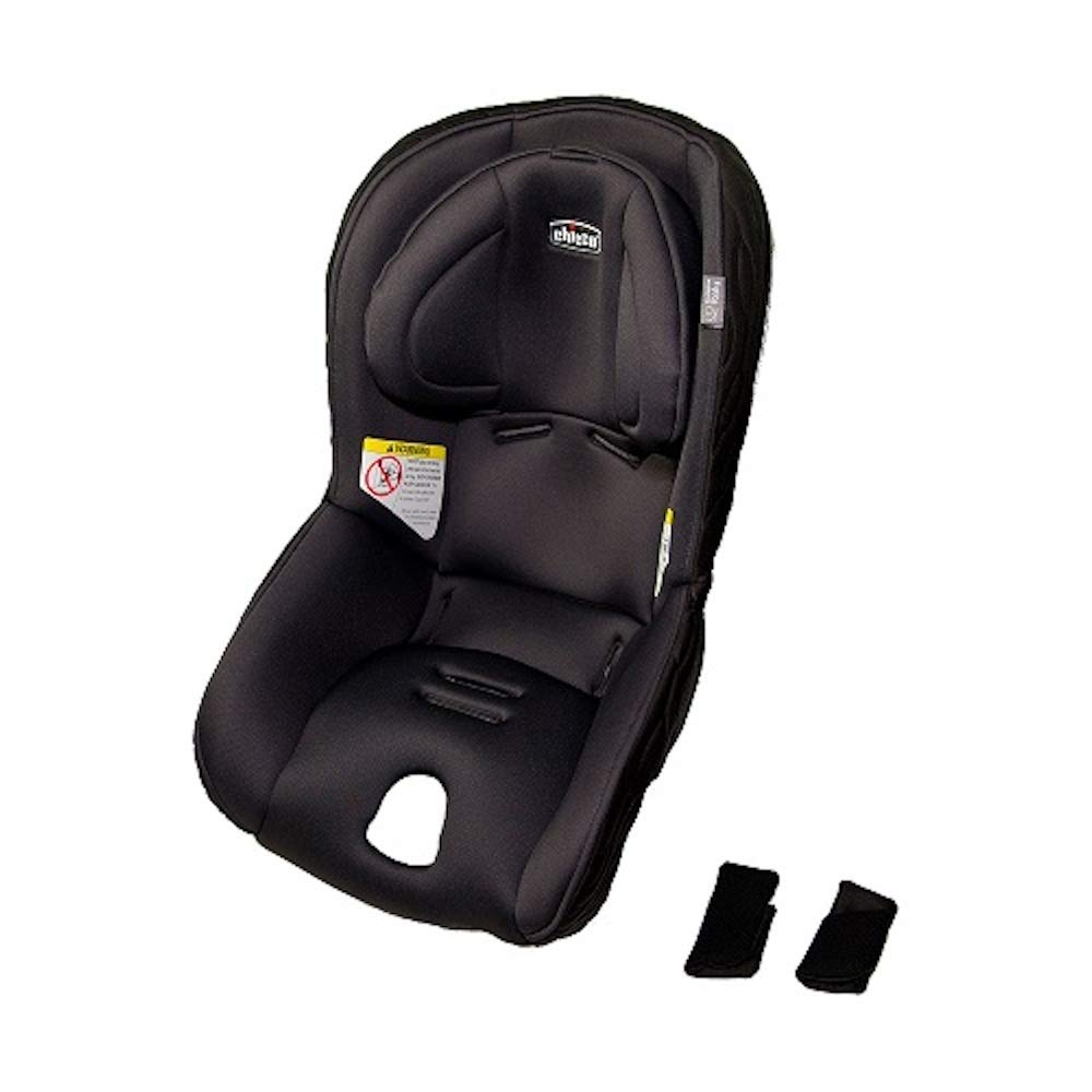 Chicco Replacement Seat Pad/Cushion/Cover, Shoulder Harness Pad, Headrest for Chicco Fit2 Car Seat - Legato (Black)