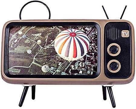 Formato de TV Retro del teléfono móvil del sostenedor del Soporte, Soporte de sobremesa del teléfono