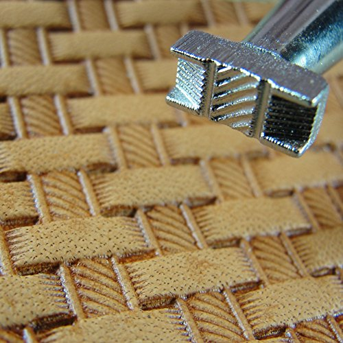 Craft Japan - #X500-2 Rope Basketweave Stamp (Leather Stamping Tool)