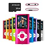MYMAHDI MP3/MP4 Music Player with 16 GB Memory Card(Expandable Up to 128GB),Supporting Photo