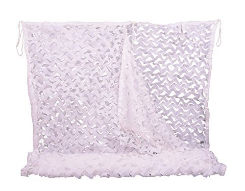 Camo Netting 10x10ft White Camouflage Net for Camping Military Hunting Shooting Sunscreen Nets
