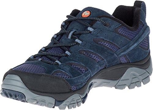 81af2782 Merrell Men's Moab 2 Vent Hiking Shoe, Navy, 14 D(M) US