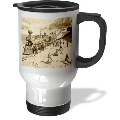 (Wild Bramble Scenes From The Union Pacific Railroad Stainless Steel Travel Mug, 14-Ounce)