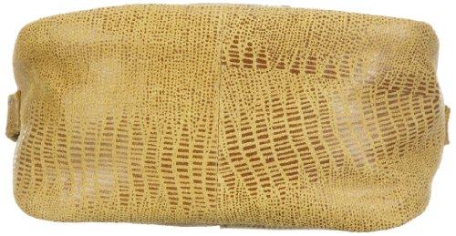 Bodenschatz Capri 4-401 CI 14, Damen Umhängetaschen 15x12x7 cm (B x H x T) Gelb (Yellow)