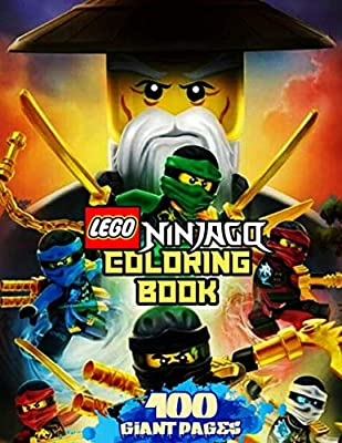 Lego Ninjago Coloring Book Super Coloring Book For Kids And Fans 100 Giant Great Pages With Premium Quality Images Bell David Amazon Sg Books