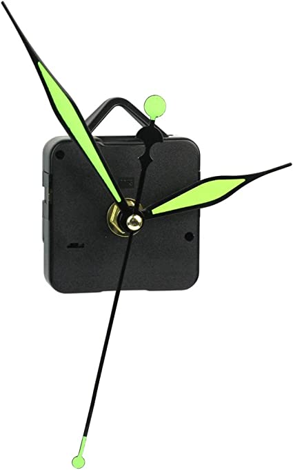 Quartz Movement Mechanism Silent Clock Gold Hands DIY P Kits Parts Handwork D2S7