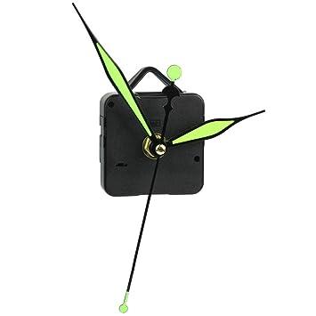 Zubehör Ersatzteil 16mm DIY Reparatur Quarz Uhrwerk 3 nachtleuchtende Zeiger