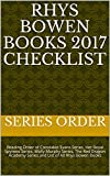 Rhys Bowen Books 2017 Checklist: Reading Order of Constable Evans Series, Her Royal Spyness Series, Molly Murphy Series, The Red Dragon Academy Series and List of All Rhys Bowen Books by  Series Order in stock, buy online here