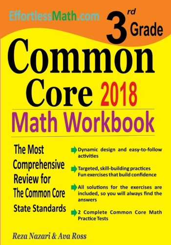 3rd Grade Common Core Math Workbook: The Most Comprehensive Review for The Common Core State Standards