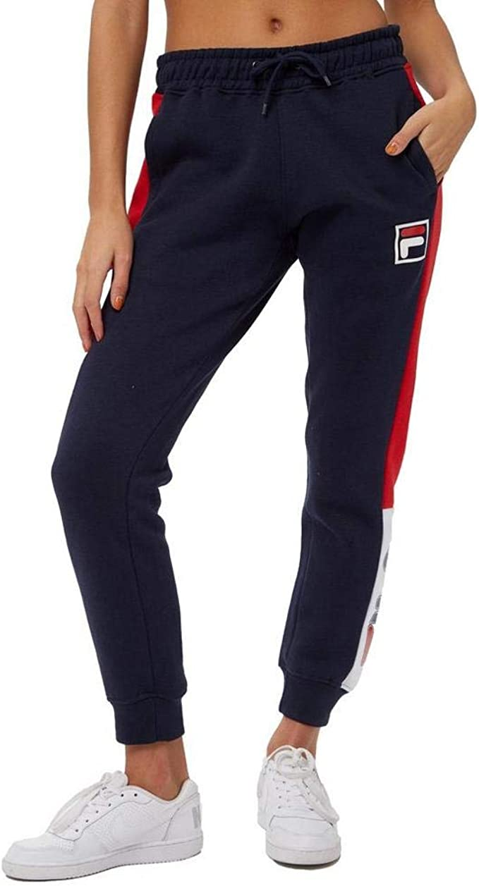 Fila Babello - Pantalones de Jogging para Mujer Azul, Rojo S ...