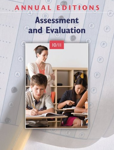Annual Editions: Assessment and Evaluation 10/11