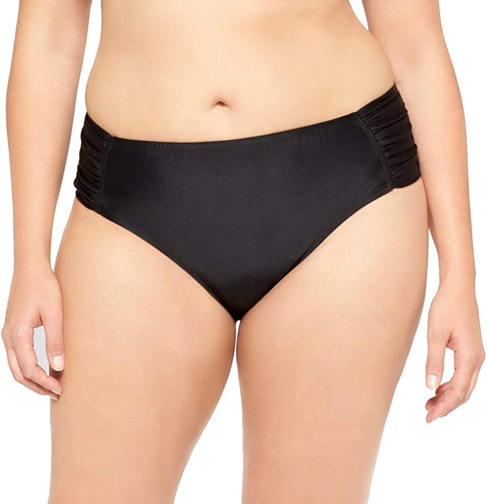 AVA /& VIV Women/'s Plus Swimsuit Top  16W  18W  22W  24W  26W Black Print
