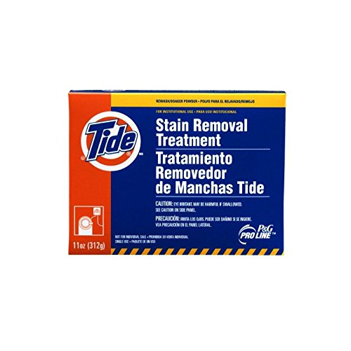 Procter & Gamble Pro Line Tide Professional Stain Removal Powder Treatment, 7.6 oz Packs, 14 Packs Per Case by Procter & Gamble