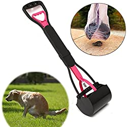 MyZenStore Pet Dog Waste Easy Pickup Pooper Scooper Walking Poo Poop Scoop Grabber Picker