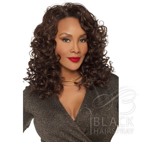 Vivica Fox Synthetic Express Wig - FHW Demi V-1B ()