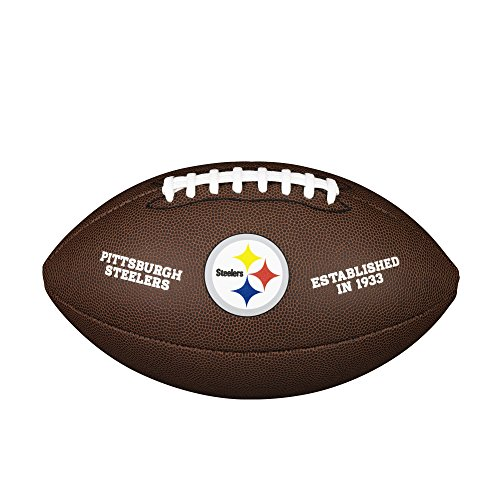 (NFL Team Logo Composite Football, Official - Pittsburgh Steelers)