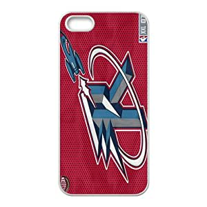 Houston Rockets NBA White Phone Case for iPhone 5S Case