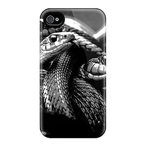 Brand New 6 Defender Cases For Iphone (black White Snakes)