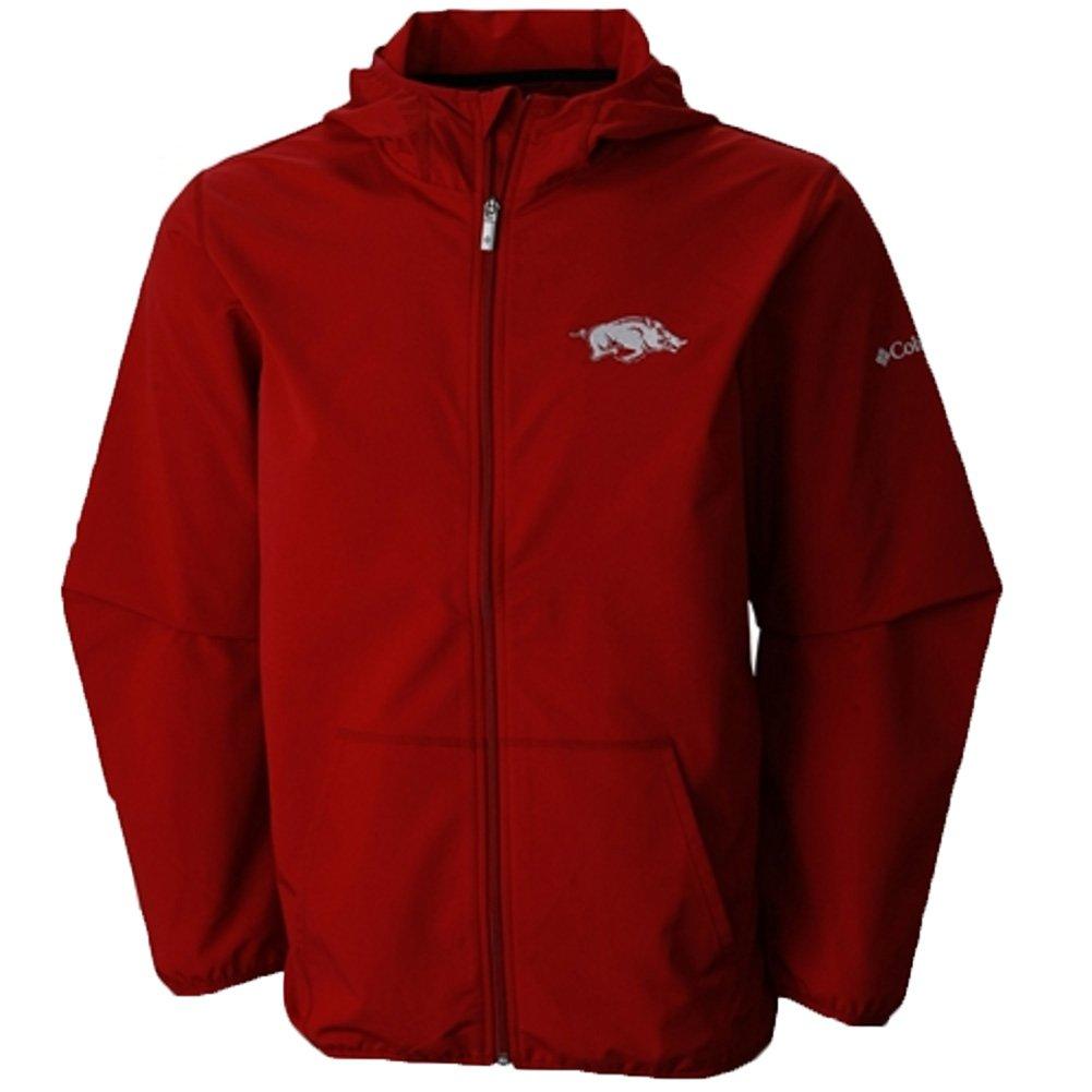 ARK Columbia Mens Taylors Ridge Softshell Jacket Red Velvet 2XL