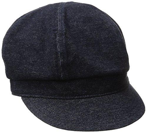 Goorin Bros. Women's Eva Cabbie Cotton Hat, Navy, X-Large