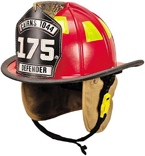 Fire Helmet Eagle (MSA 1044FDR Cairns Fire Helmet with 4