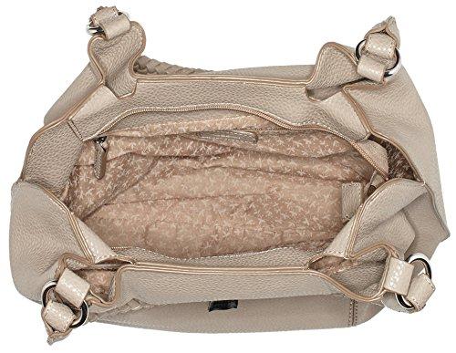 Gabor Padua - Bolso de hombro Mujer Gris (Taupe)