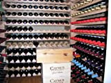 Wine Rack Wood -64 Bottles Modular Hardwood Wine Racks (8 bottles x 8 shelves = 64 Bottles)