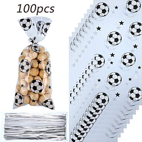 Football Themed Favors - Blulu 100 Pieces Soccer Party Favors