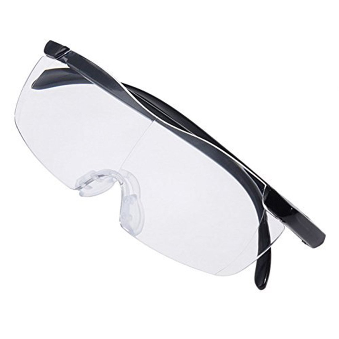 69ff8cfdb7 2Pcs Plastic Glasses 1.6X Magnifying Presbyopic Eyewear Makes Everything  Bigger and Clearer