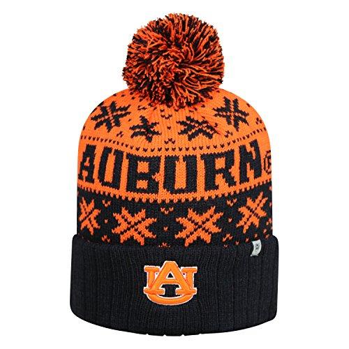 Top of the World Auburn Tigers Subarctic Cuffed Pom Knit Beanie Hat/Cap