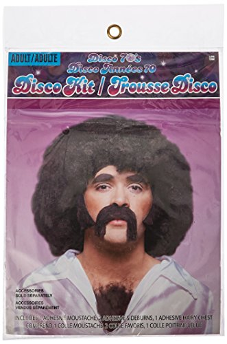 Forum Novelties 70's Hair Instant Costume (Halloween Costume Chest Hair)