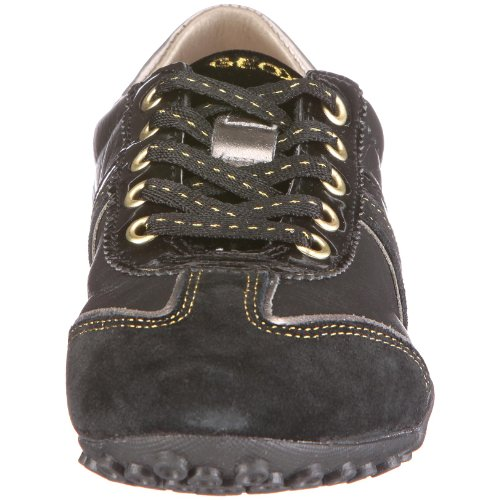 Black 4321 Donna Schwarz Geox C0352 Damen D0112B Snake Sneaker qwnU8t