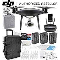 DJI Phantom 4 PRO Obsidian Edition Drone Quadcopter (Black) Travel Case Ultimate Bundle