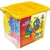 Brinquedo para Montar Mini Box Clic e Monte 25 Peças Dismat