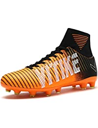 a0d21dda3efa Soccer Cleats Shoes Football Boots Cleats High-top Sock Shock Buffer Outdoor