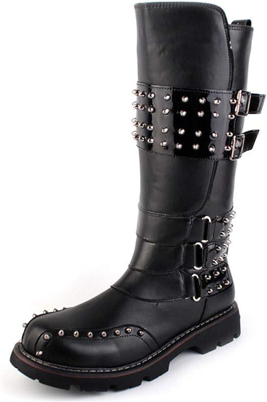 men's fashion knee high boots
