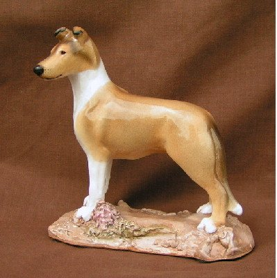 Ron Hevener Smooth Collie Figurine (Sable) (Sable Collie Figurine)