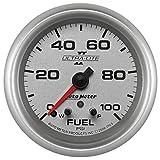 Auto Meter 7763 Ultra-Lite Pro II 2-5/8'' 0-100 PSI Full Sweep Electric Fuel Pressure Gauge