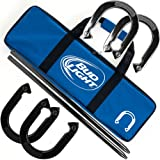 Bud Light Horseshoe Set with Carrying Case