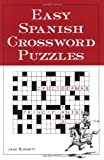 Easy Spanish Crossword Puzzles, Burnett, Jane, 0844272442