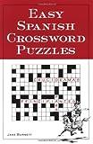 Easy Spanish Crossword Puzzles, Burnett, Jane, 0844272442