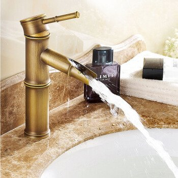 The Opening Section 2. Hlluya Professional Sink Mixer Tap Kitchen Faucet The Antique brass faucet antique bamboo single hole basin mixer basin bench pots of hot and cold taps, the opening section 3.