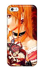 Rachel Kachur Bordner's Shop Hot 4800782K14690770 High Grade Flexible Tpu Case For Iphone 5/5s - Misa From Death Note