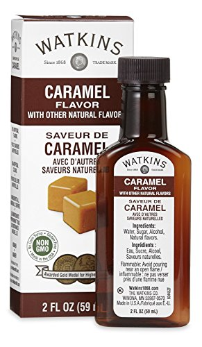 Protein Shake Whipped Vanilla Cream - Watkins All Natural Caramel Flavor, 2 Ounce (Pack of 6) (Packaging may vary)